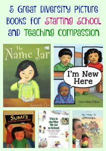5 Great Diversity Picture Books for Starting School and Teaching Compassion