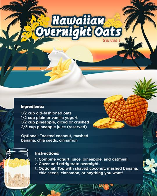 Hawaiian-Overnight-Oats-Recipe